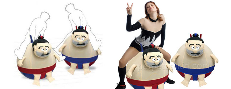 Bouncing Sumo Hoppers For Adults