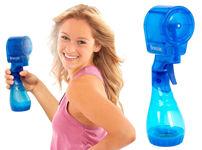 Breezie   Bladeless Handheld Misting Fan