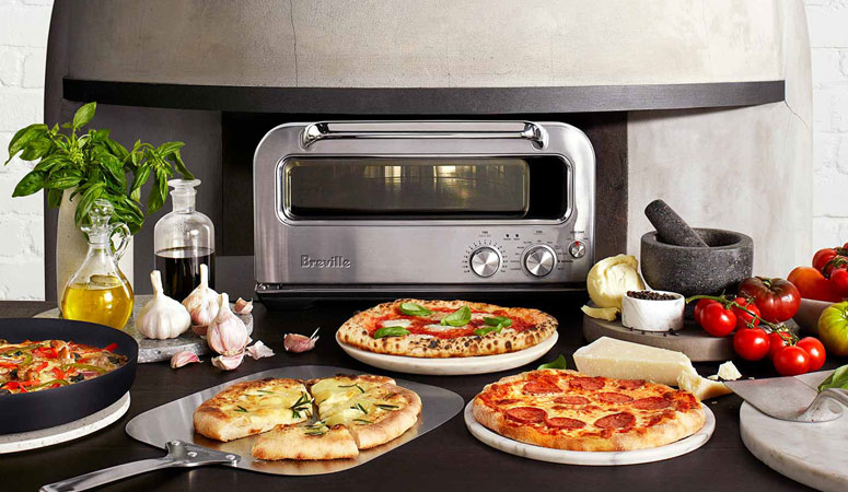 Breville Pizzaiolo Smart Pizza Oven - Reaches Temps Up To 750 Degrees