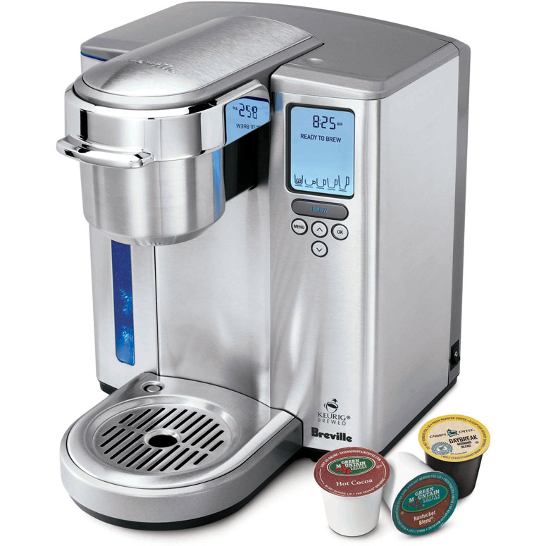 Coffee Maker For One : Breville Keurig - Gourmet Single Serve Coffee Maker - The Green Head