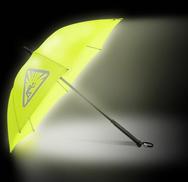 Bright Night Stridelite Illuminated Umbrella The Green