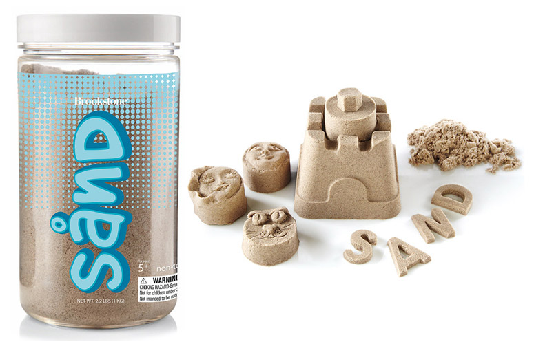 SAND by Brookstone - Always Wet, Never Messy, Packable and Stretchable