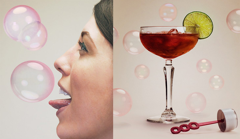 BubbleLick - Create Edible Bubbles From Your Favorite Drinks