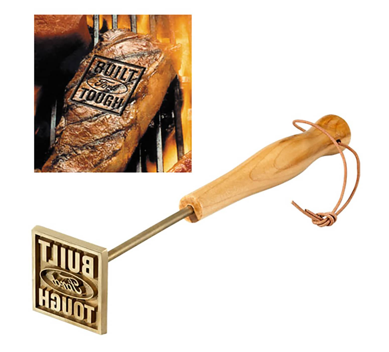 Built Ford Tough Branding Iron