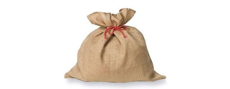 Burlap Gift Sacks - The Green Head