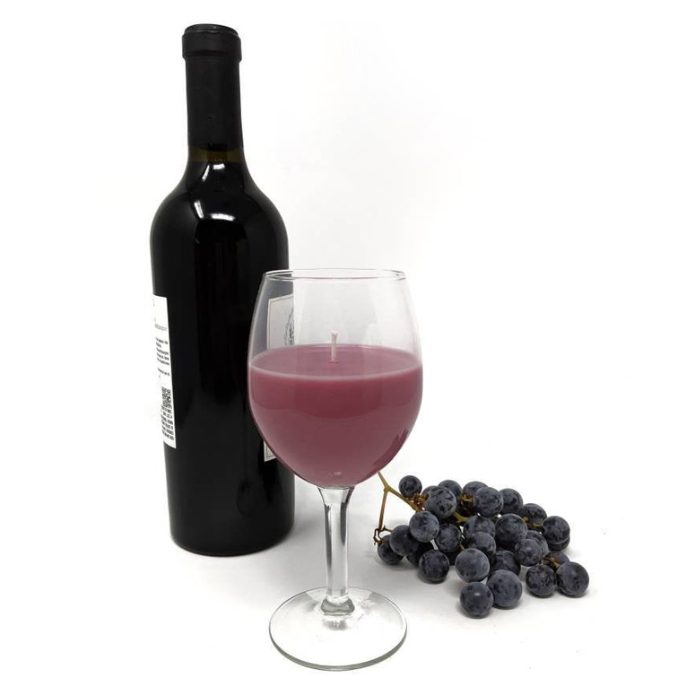 Cabernet Sauvignon Wine Glass Candle