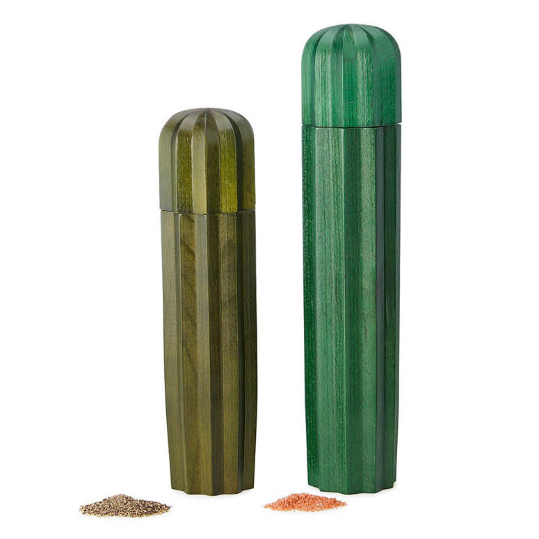 Cacti Salt and Pepper Grinders