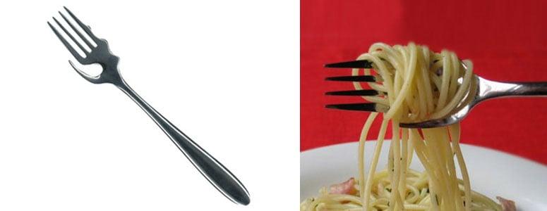 Calamete Pasta Fork The Green Head