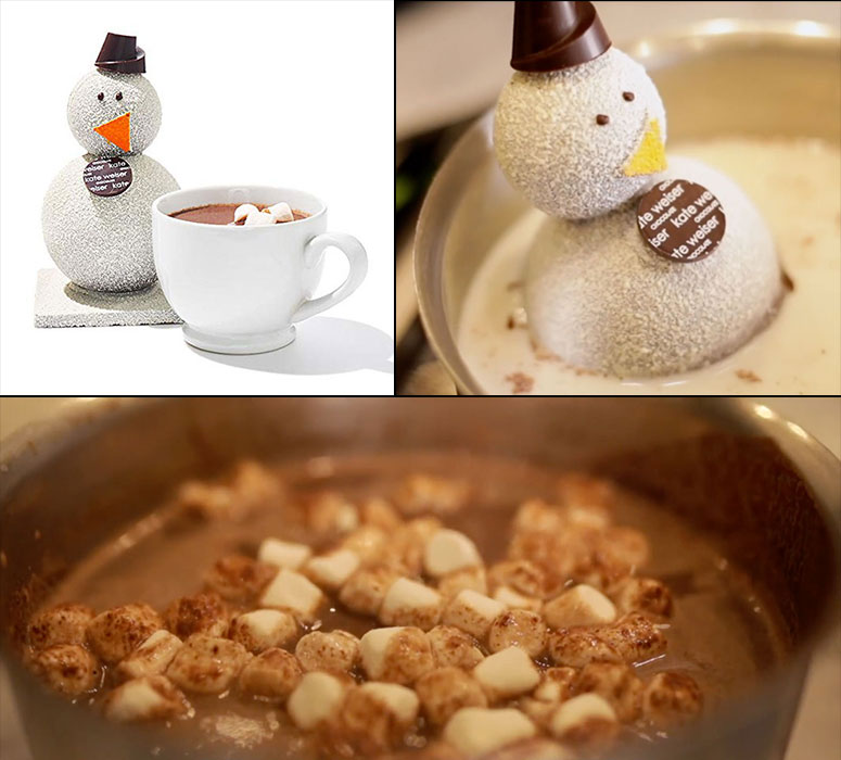 Carl the Snowman - Melts Into Hot Chocolate w/ Marshmallows