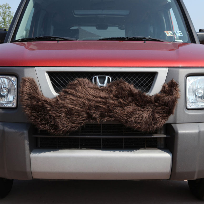 Carstache - Furry Car Mustache