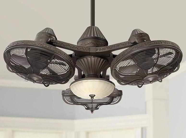 Casa Vieja Esquire - Industrial Triple Head Ceiling Fan