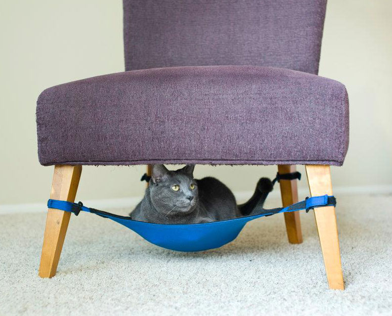 Cat Crib - Cat Hammock For Chairs