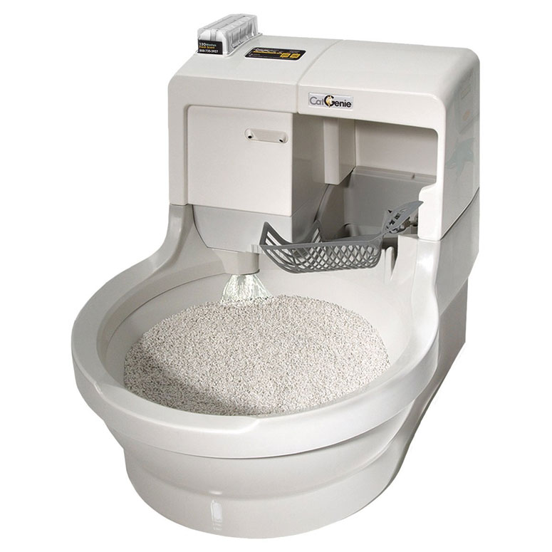 Cat Genie - Automatic Flushing Litter Box - The Green Head