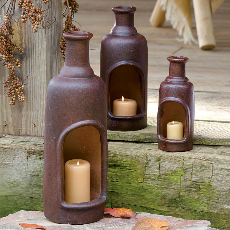 Ceramic Candle Chimneys The Green Head