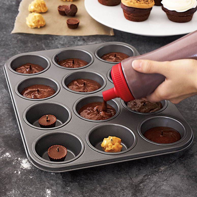 Chicago Metallic Cupcake Surprise Pan
