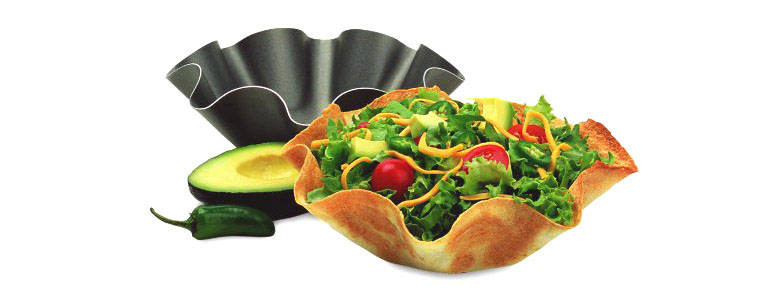 Chicago Metallic Tortilla / Taco Shell Baking Pans