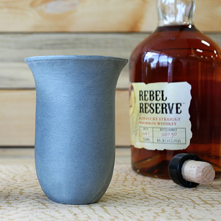 Chillable Soapstone Whiskey Snifter
