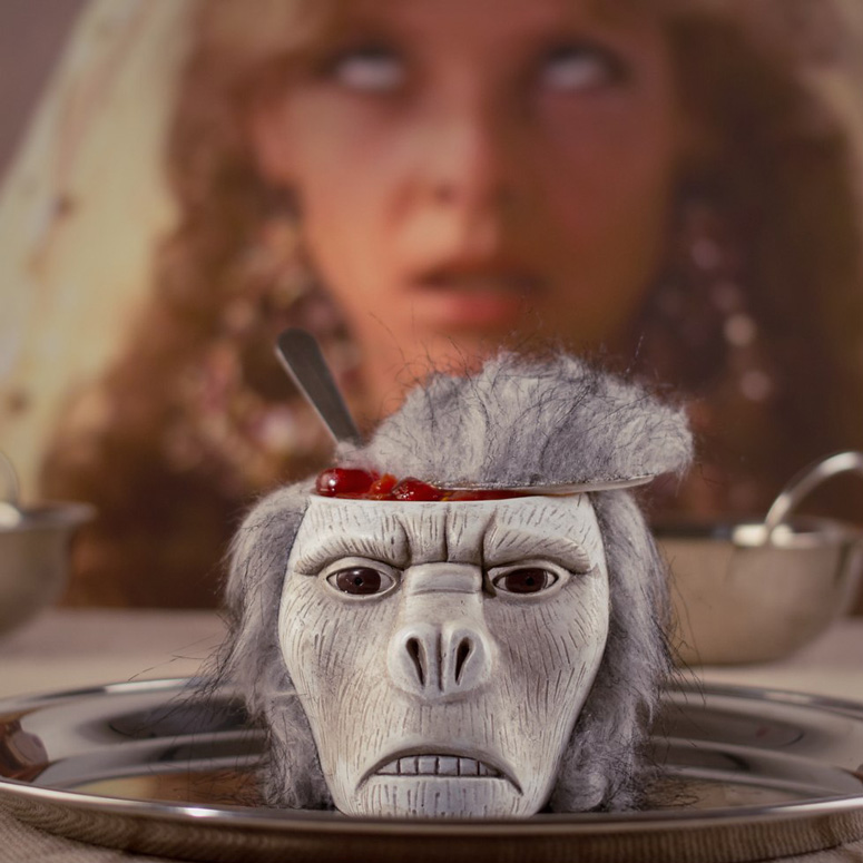 Chilled Monkey Brains Bowl Indiana Jones And The Temple