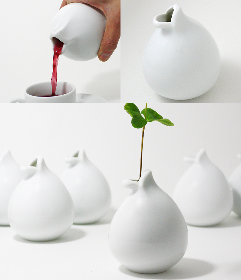 Chu-Lip - Ceramic Lips Cup / Teapot / Vase / Vessel