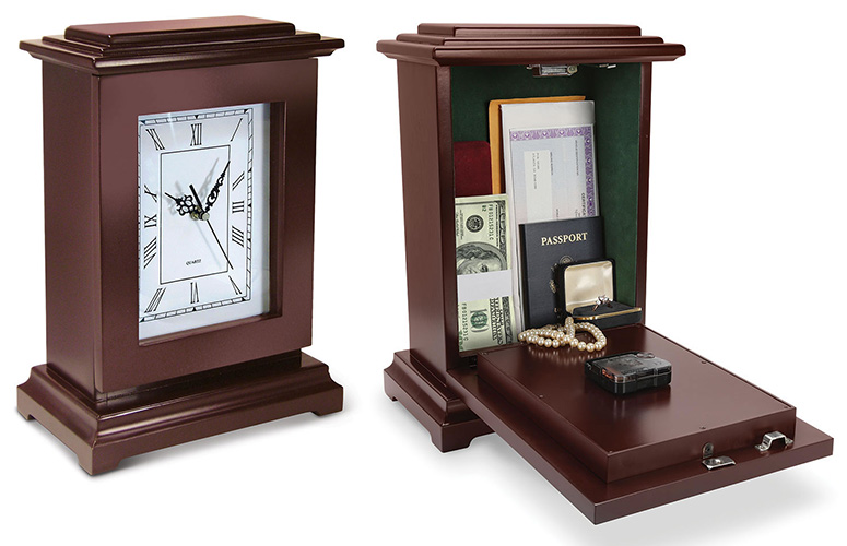 Clock With Hidden Safe