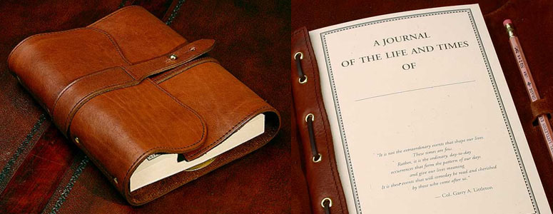 Col. Littleton No. 9 Leather Journal