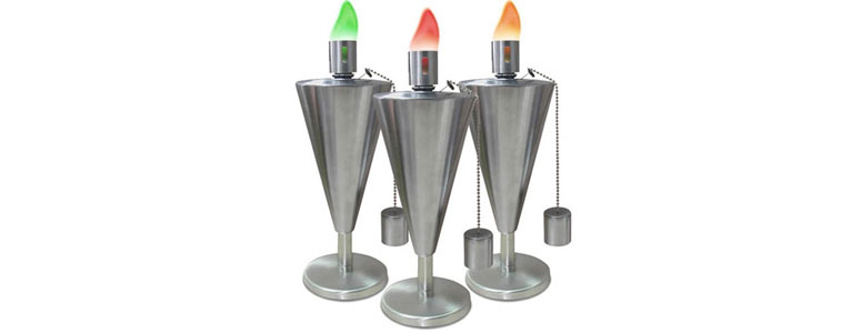 Colored Flame Stainless Steel Table Torch