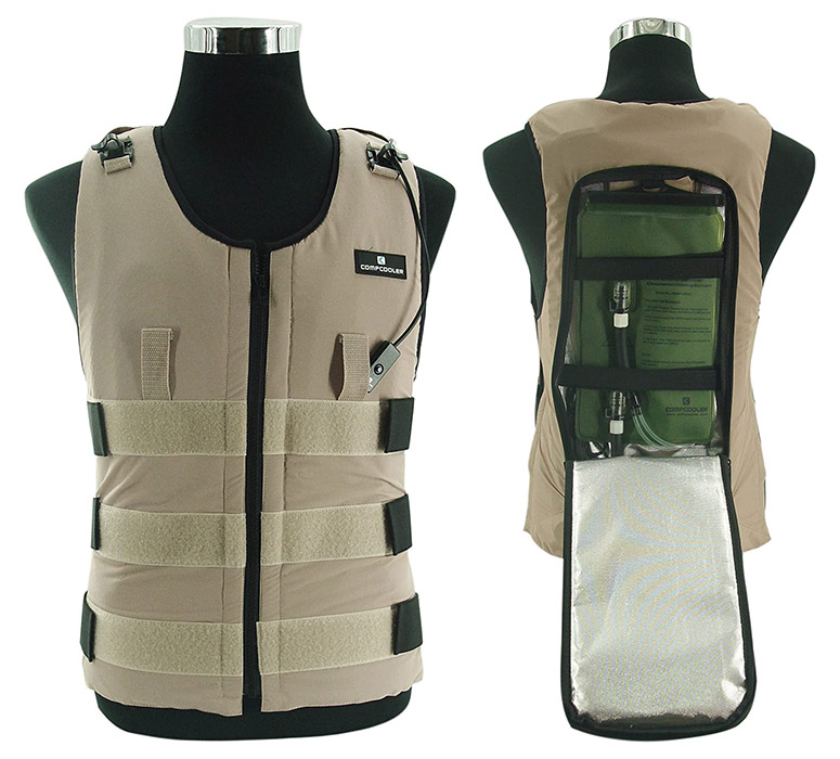 Compcooler - Ice Water Circulation Cooling Vest
