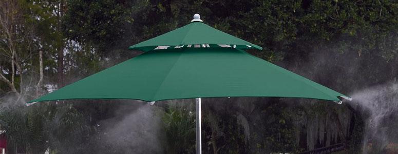 Refreshing Cool Mist Umbrella & Refreshing Cool Mist Umbrella - The Green Head