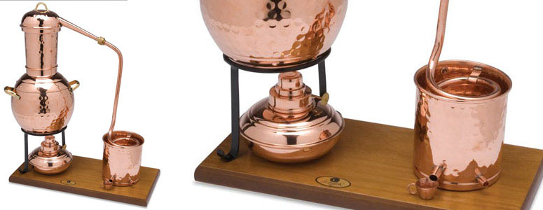 Copper Alembic Perfume Distiller The Green Head