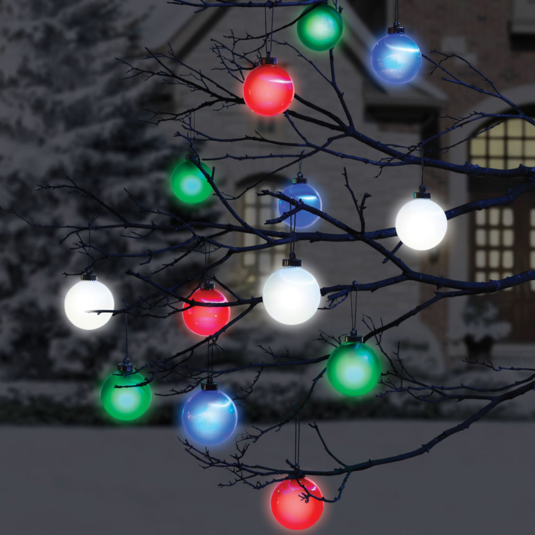 Cordless Outdoor Christmas Lights