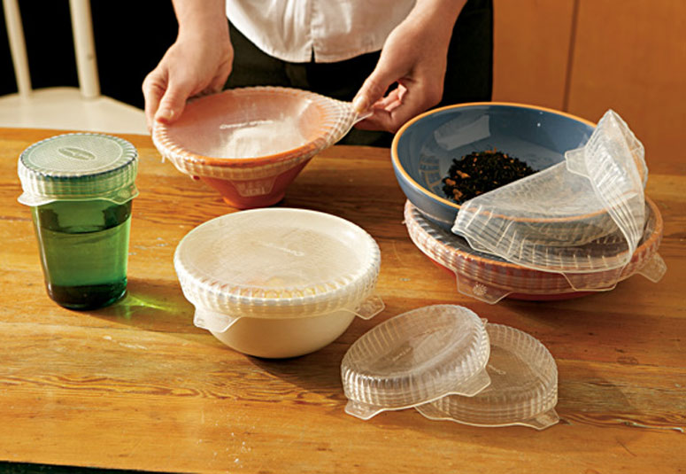 Coverflex - Stretchable and Reusable Silicone Lids