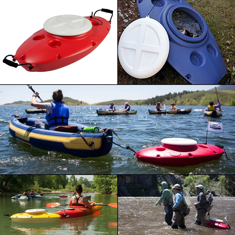 CreekKooler - Towable Floating Cooler