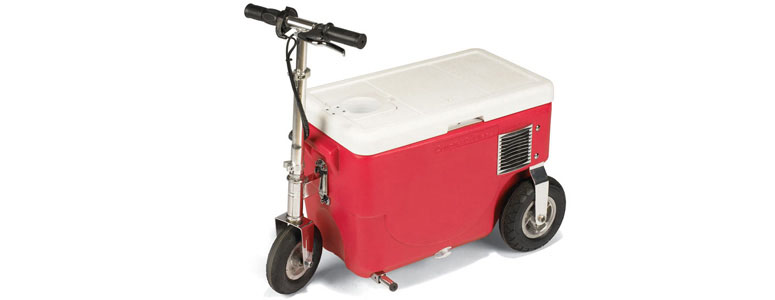 Cruzin Cooler Rideable Electric Beverage Cooler
