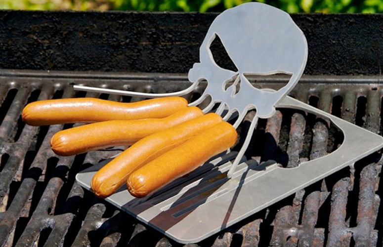 Remote Control Dog >> Cthulhu Hot Dog Roaster - The Green Head
