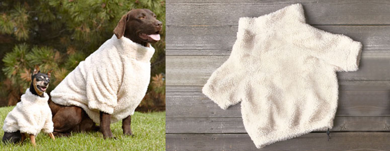Cuddly Fleece Pet Sweatshirt