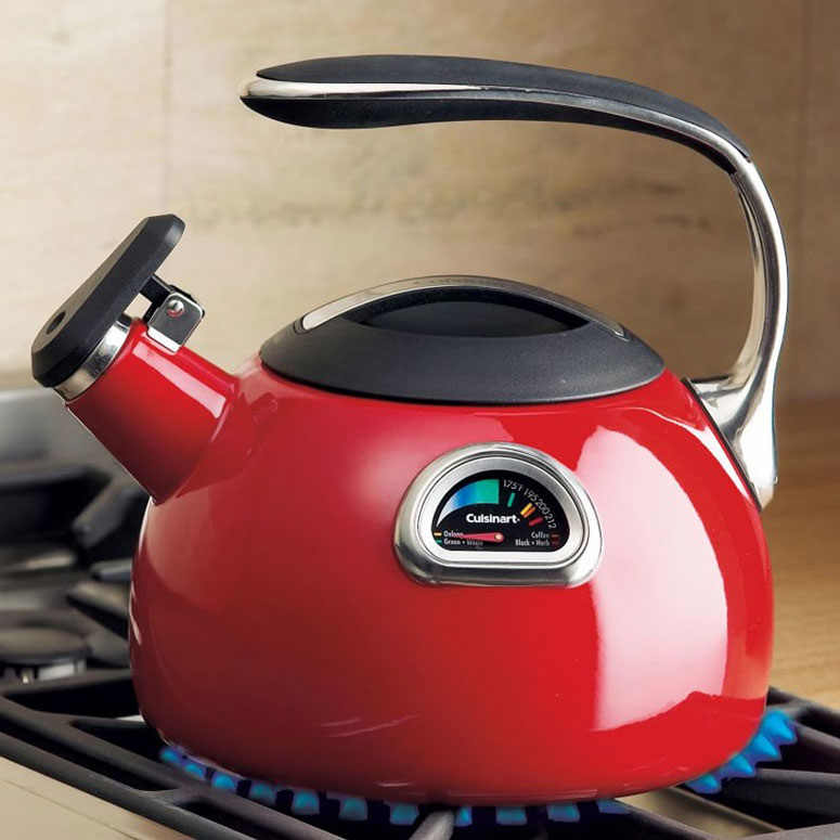 Cuisinart PerfecTemp Tea Kettle - Built-In Thermometer!