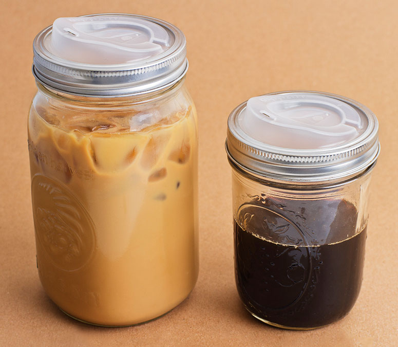 Coffee Gl Jar The Table