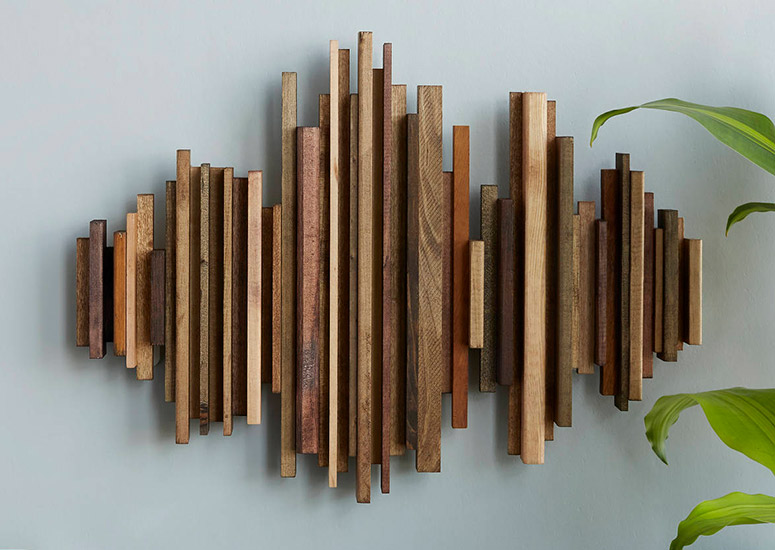 Custom Song Sound Wave Wall Art Sculpture