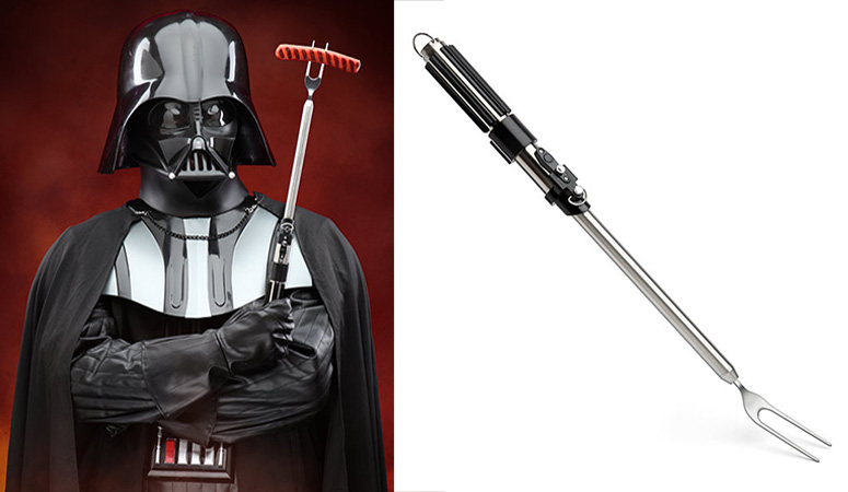 Darth Vader Lightsaber Bbq Fork The Green Head