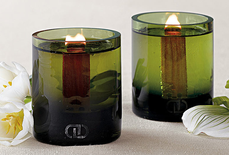 Dayna Decker - Chandel Botanika Candles With EcoWood Wicks