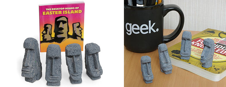 Desktop Heads of Easter Island