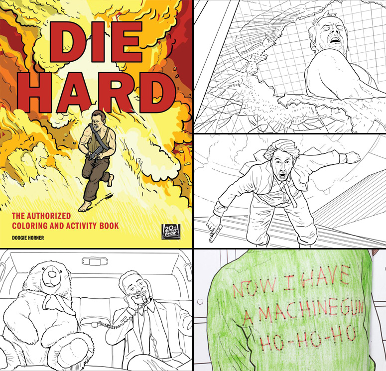 Die Hard Coloring Book