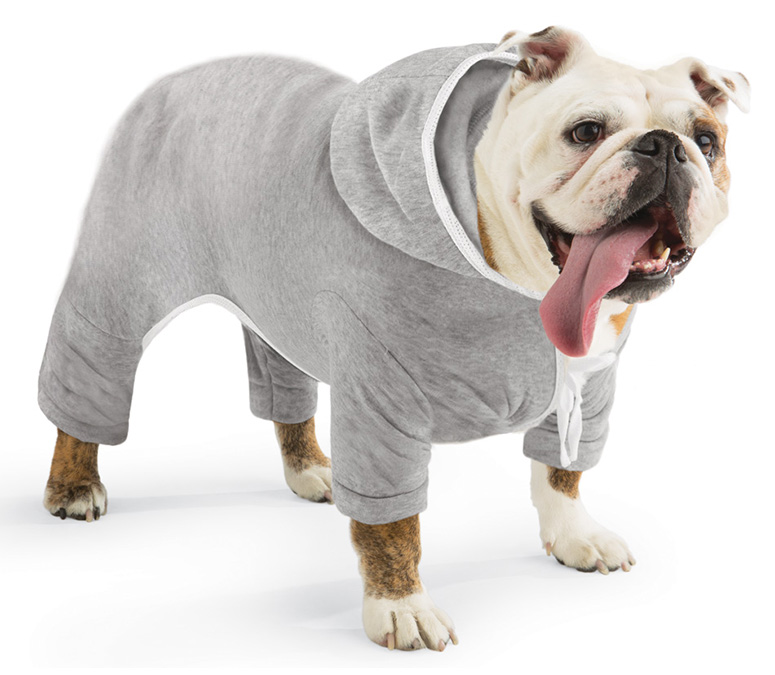Doggie Jogging Sweatsuit With Hoodie