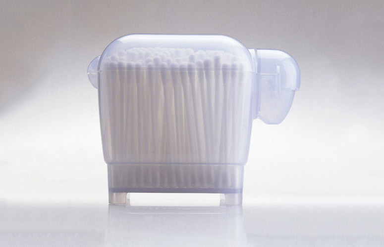 Dolica Sheep Shaped Cotton Swab Container