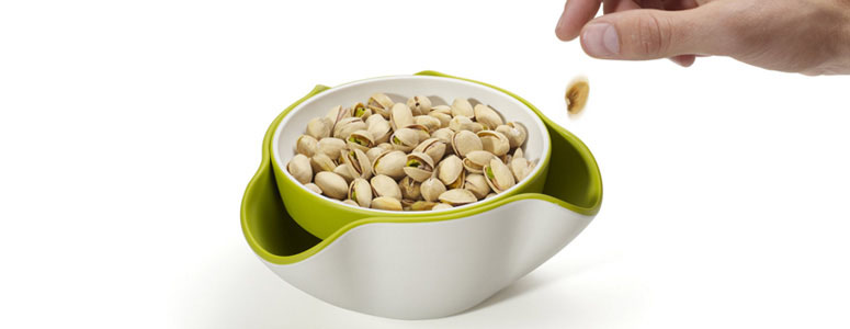 Double Dish Snack Bowl