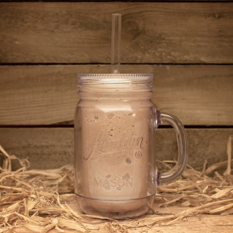 Double-Wall Insulated Mason Jar Tumbler