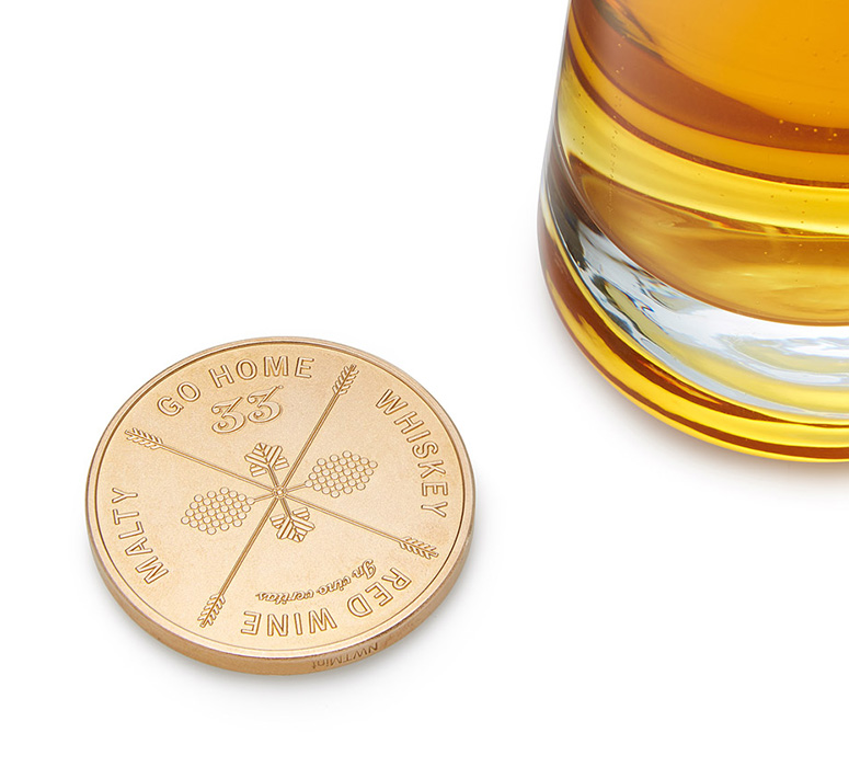 Drinking Decision Coin