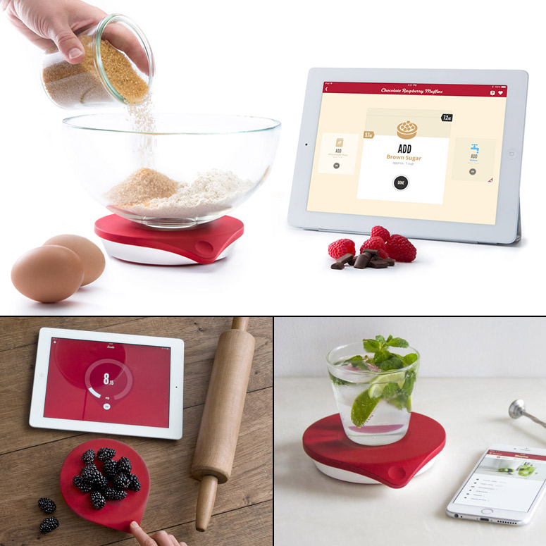 Drop Kitchen Connected Scale and Step-by-Step Visual Recipe App