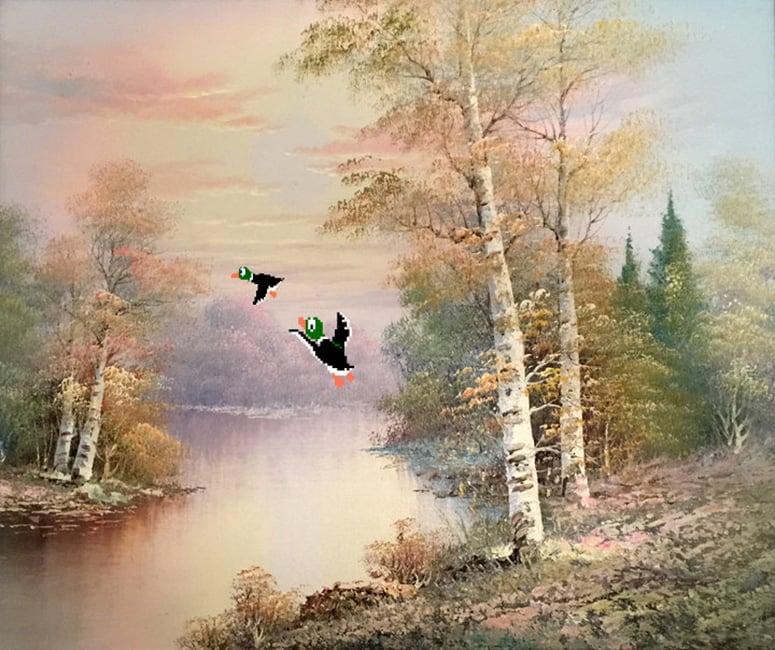 Waterfowl Oil Paintings