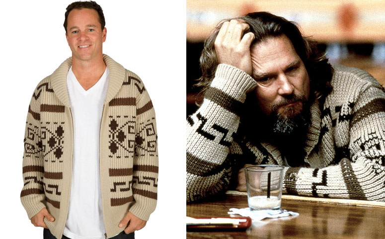 The Dude S Sweater From The Big Lebowski